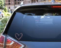 Bts Car Decal Etsy