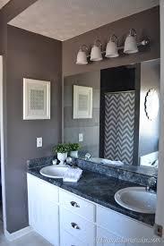 mirror in bathroom perfect around
