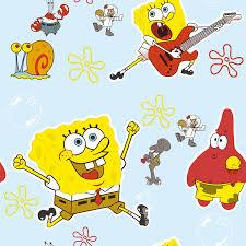 Spongebob Squarepants Kids Room Wallpaper Professional Wallpaper Manufacture In China