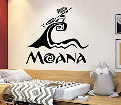 Amazon Com Disney Wall Decal Moana Wall Decal Decor Disney Movie Quote Decal Girls Room Decor Moana Gift 4150 Handmade