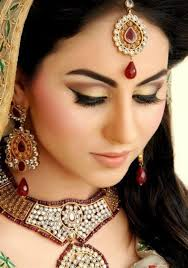 bridal makeup for winter weddings