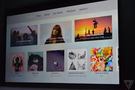 Apple Music is coming to the new Apple TV - The Verge