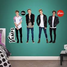 The Vamps Collection The Vamps Entertainment Wall Decals Kids Wall Decals Entertainment Wall
