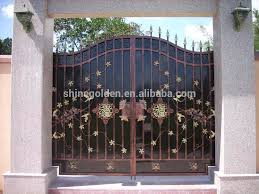 Wrought Iron Door Main Gate Wrought Iron Security Doors Design View Superior Swing Gate Shinegolden Product Details From Shinegolden Steel Craft Co Ltd On Alibaba Com