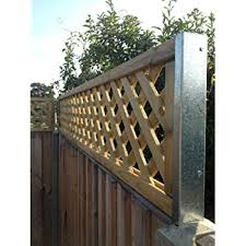 Postfix Trellis Fence Height Extension Arms Value Pack Of 5 Pairs No Trellis Included Amazon Co Uk Garden Outdoors