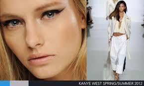 kanye west makeup paris fashion week s