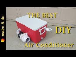 homemade portable air conditioner diy