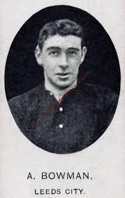 Bowman Adam Image 1 Leeds City 1908 - Vintage Footballers