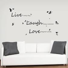 Ebern Designs Vivid Live Laugh Love Wall Decal Reviews Wayfair