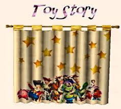 Miss Simpleton S Disney For Kids Bedroom Ensembles The Curtains By Simpleton Disney Toy Story Curtain By Simpleton