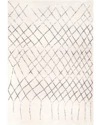 Shopping Special For Nuloom Madeline Moroccan Abstract Ivory 8 Ft X 10 Ft Area Rug