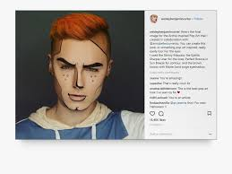 posts from male makeup artist wesley