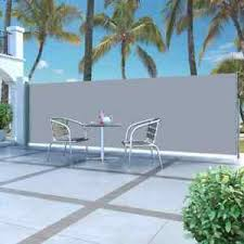 Retractable Side Awning 63 X196 9 Privacy Screen Retractable Fence Shade Blind Ebay