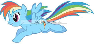 New My Little Pony The Movie 13 Rainbow Dash Wall Decal Sticker Available On Amazon Com My Little Pony Movie Toys