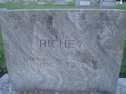 Emma Atha Jones Richey (1872-1938) - Find A Grave Memorial
