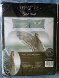 anne stokes duvet set single spirit