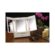 lighted makeup mirror 5x magnification