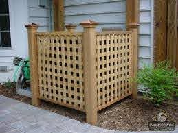 Fence To Hide Air Conditioner Unit Gallery Categories Air Conditioner Hide Backyard Patio Backyard