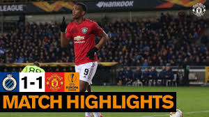 Highlights | Club Brugge 1-1 Manchester United