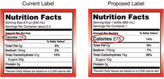 coca cola reveals calories food