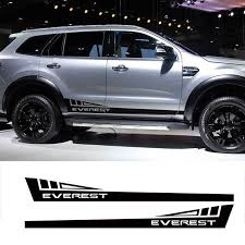 Custom Car Stickers 2pc Side Door Panel Stripe Triangle Graphic Vinyl Car Accessories Decals Ford Everest Ende Car Accessories Custom Car Stickers Jeep New Car
