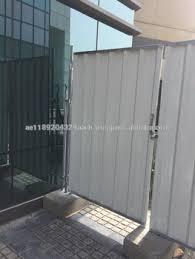 Corrugated Sheet Hoarding Site Perimeter Temporary Barricade Fence Uae Buy Construction Site Temporary Fencing Construction Hoarding Fence Perimeter Fence Product On Alibaba Com