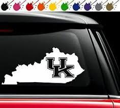 Kentucky Wildcats State Vinyl Decal Car Truck Window Sticker University Love Ky Ebay
