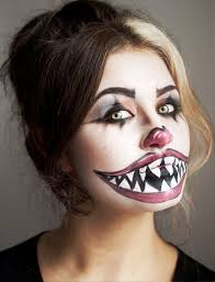 30 scary halloween makeup ideas for you