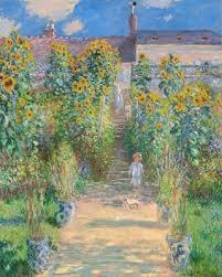 the artist s garden at vétheuil