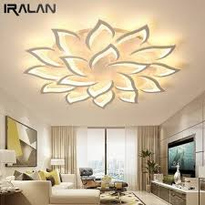 iralan acrylic ceiling lamp living room