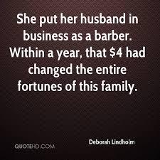 deborah lindholm husband quotes quotehd