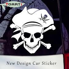 Piracy Crossbones Skull Vinyl Decal New Design Car Sticker Pirate Jolly Laptop Decals Removable Car Window Door Computer Decals Skull Vinyl Decals Vinyl Decalcar Window Decals Aliexpress