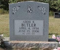 Addie Butler (1934-2006) - Find A Grave Memorial