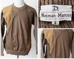 neiman marcus wool alpaca leather
