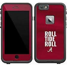Amazon Com Skinit Decal Skin Compatible With Lifeproof Fre Iphone 6 6s Plus Officially Licensed College Alabama Roll Tide Roll Design Industrial Scientific