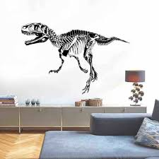Dinosaur Fossils 3d Wallpaper Mural Dinosaur Wall Sticker Living Room Decoration For Sale Online