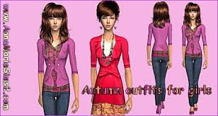 free clothes accesories sims models