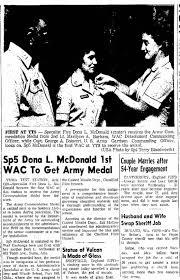 SP5 Dona McDonald, Yuma - Newspapers.com