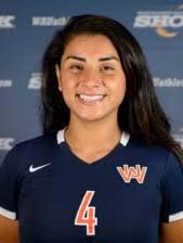 Adriana Mitchell 2014 Volleyball - Washington Adventist University