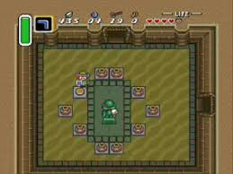 link to the past the desert palace