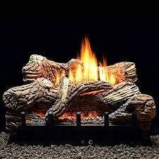 propane lp gas manual fireplace log
