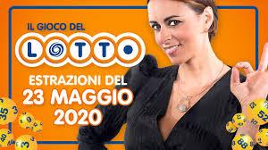 Estrazione Lotto 23 maggio 2020 con 10 e Lotto e Simbolotto