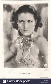Promotional photography of Actress Evelyn Brent (1895-1975) - Silent movie  era Stock Photo - Alamy