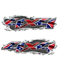 Ripped Metal 4x4 Rebel Truck Graphics