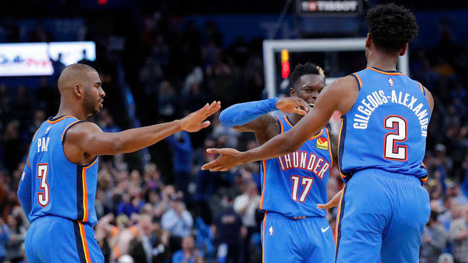 Image result for oklahoma city thunder""