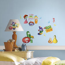 Veggie Tales Peel And Stick Wall Decals Walldecals Com