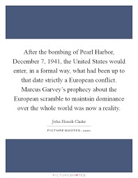 after the bombing of pearl harbor the united