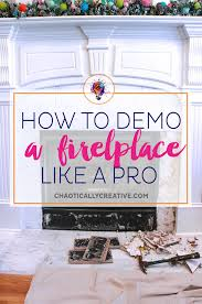 how to remove fireplace tiles