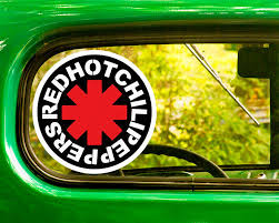 The Decal And Sticker Mafia 2 Red Hot Chili Peppers Decal Stickers Bogo Car Bumper Laptop Window Jeep