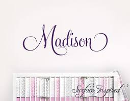 Name Wall Decals Removable Wall Decals Personalized Name Wall Decals Surface Inspired Home Decor Wall Decals Wall Art Wooden Letters